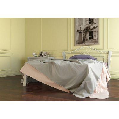 Кровать Фортуна 4 Лайт (белый/белый) 120х200 см