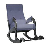 Кресло-качалка Модель 707 (Verona Denim Blue/венге)