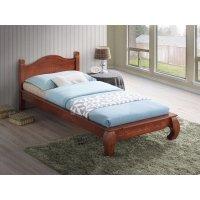 Односпальная кровать Саманта (90х200/цвет Dominic Oak)