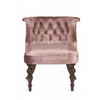 Кресло Бархат (темный тон / 24 - розовый)