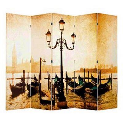 Ширма 1201-5 «Набережная Венеции» (5 панелей)