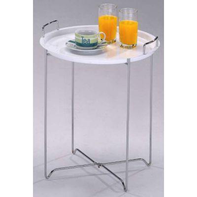 Столик чайный складной MK-2387-WT Белый